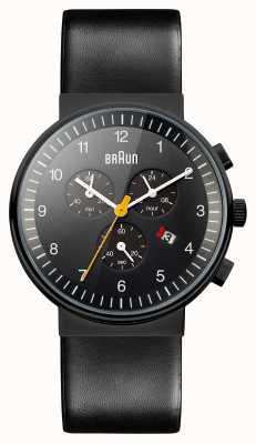 Braun Мужской хронограф все черные часы BN0035BKBKG