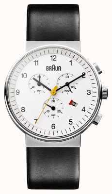 Braun Мужские классические хронографы BN0035WHBKG