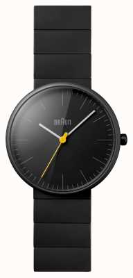 Braun Мужские черные керамические часы BN0171BKBKG