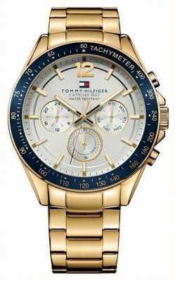 Tommy Hilfiger Мужские часы с золотым тоном 1791121