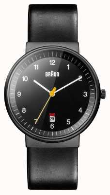 Braun Мужские черные часы BN0032BKBKG