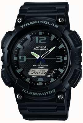 Casio Mens Five Alarm солнечный приведенный в действие осветитель черный AQ-S810W-1A2VEF