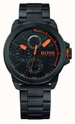 Hugo Boss Orange Мужской черный черный черный циферблат 1513157