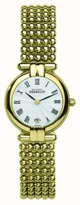Michel Herbelin Женские перлы, золотые часы 16873/BP08