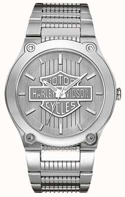 Harley Davidson Нержавеющая сталь со светящимися руками 76A134
