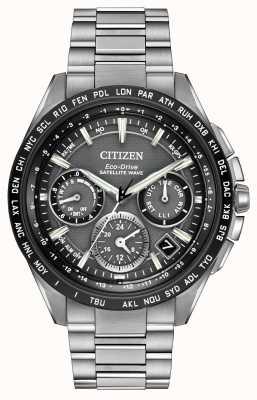 Citizen Mens f900 gps спутниковая волна chrono CC9015-71E