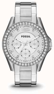 Fossil Жесткая нержавеющая сталь ES3202