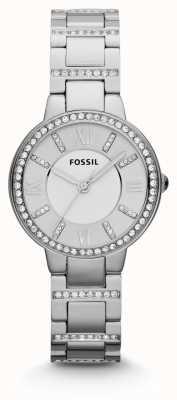 Fossil Женская виргиния нержавеющая сталь ES3282