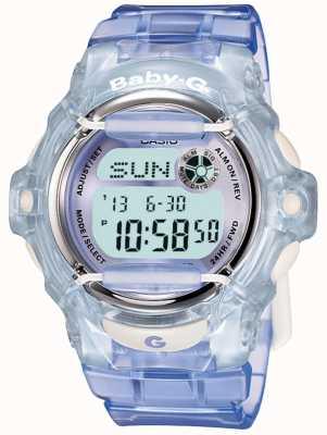 Casio Baby-g сиреневые / синие женские цифровые часы BG-169R-6ER