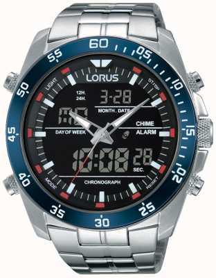 Lorus Мужская двойная нержавеющая сталь RW623AX9