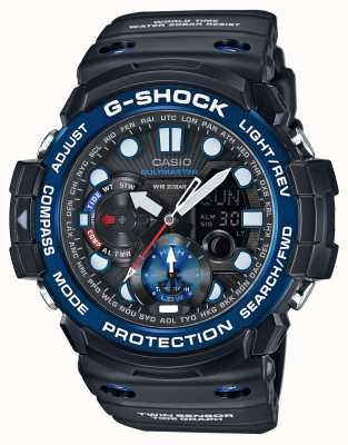 Casio G-shock Gulfmaster сигнальный хронограф GN-1000B-1AER