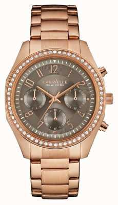 Caravelle New York Хронограф из розового золота 44L195