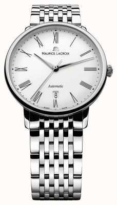 Maurice Lacroix Mens Les Classique традиция автоматические стальные часы LC6067-SS002-110-1