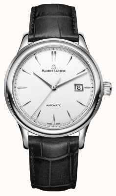 Maurice Lacroix Мужские автоматические часы с серебряным циферблатом LC6098-SS001-130-1