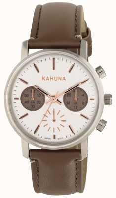 Kahuna Белый коричневый ремешок белого набора KLS-0318L