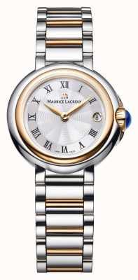 Maurice Lacroix Fiaba 26мм женский двухцветный серебряный циферблат FA1003-PVP13-110-1