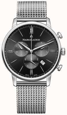 Maurice Lacroix Черный циферблат из нержавеющей стали EL1098-SS002-310-1