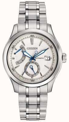 Citizen Автоматическая классическая мужская нержавеющая сталь NB3010-52A