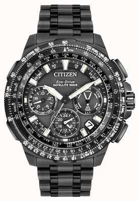Citizen Promaster navihawk gps черный супер титан CC9025-85E