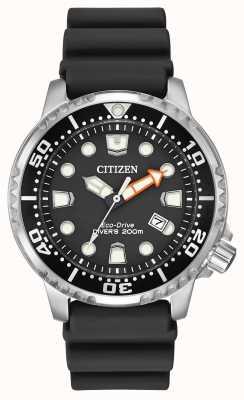 Citizen Черный резиновый ремень BN0150-28E