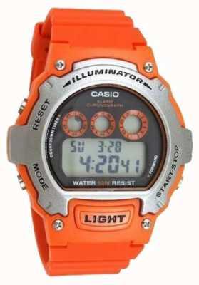 Casio Светодиодный хронограф W-214H-4AVEF