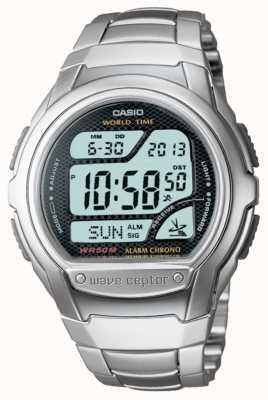 Casio Waveceptor радиоуправляемый сигнальный хронограф WV-58DU-1AVES