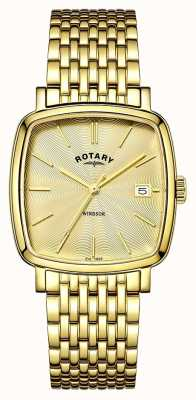 Rotary Mens windsor gold pvd покрыт GB05308/03