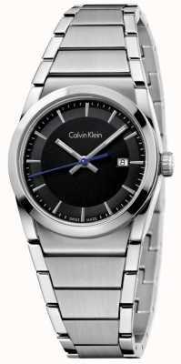Calvin Klein Черный циферблат K6K33143