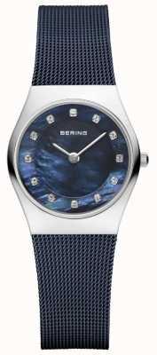 Bering | женский синий ремешок синий циферблат | 11927-307