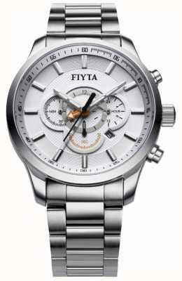 FIYTA Часы хронографа из нержавеющей стали G788.WWW