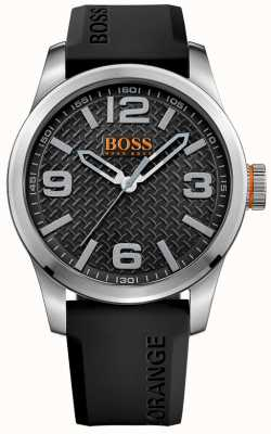 Hugo Boss Orange Мужской черный коричневый ремешок черный циферблат 1513350
