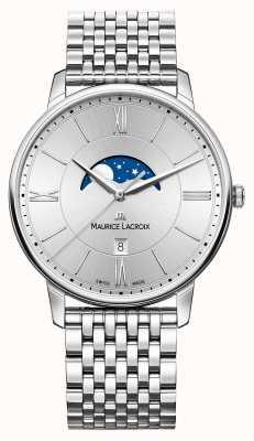 Maurice Lacroix Серебряный металлический ремешок серебристого серебра EL1108-SS002-110-1