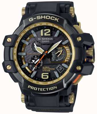 Casio Гибридный gps premium gravitymaster черный и золотой GPW-1000GB-1AER