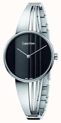 Calvin Klein Дрифт-часы с черным циферблатом K6S2N111