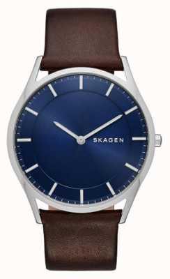 Skagen Кожаные кожаные часы SKW6237