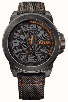 Hugo Boss Orange Мужская черная металлическая сетка 1513343