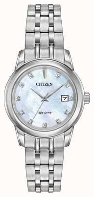 Citizen Браслет из нержавеющей стали с бриллиантами из нержавеющей стали EW2390-50D