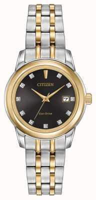 Citizen Бриллиант из нержавеющей стали EW2394-59E
