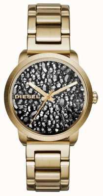 Diesel Позолоченный позолоченный браслет из нержавеющей стали DZ5521