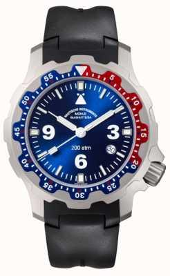 Muhle Glashutte Мужские черные резиновые часы M1-28-82-KB