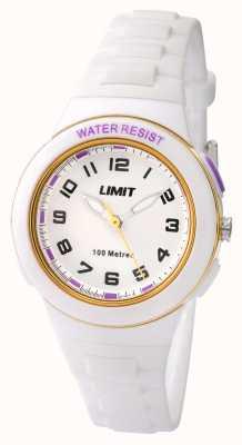Limit Белый белый ремешок из белой смолы 5590.24