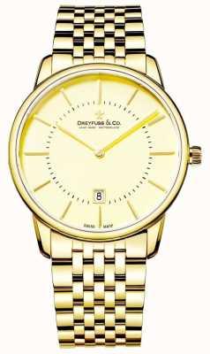 Dreyfuss Мужской золотой браслет с датой DGB00136/03