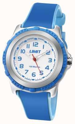 Limit Дети активный синий смола ремешок белый циферблат 5600.24