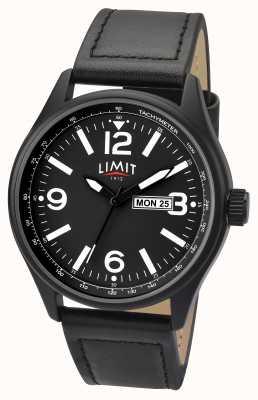 Limit Мужской черный черный ремешок черного циферблата 5621.01
