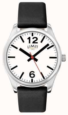 Limit Мужской черный ремешок белого набора 5626.01