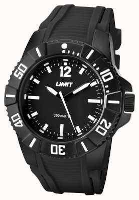 Limit Мужской черный черный ремешок 5545.02