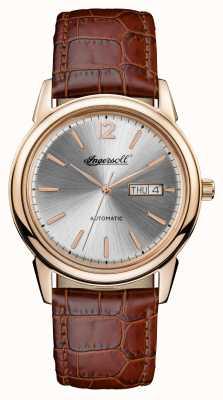Ingersoll Mens 1892 новый коричневый кожаный ремень I00503