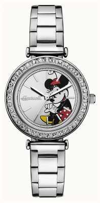 Disney By Ingersoll Женское объединение серебряный диск Disney из нержавеющей стали ID00305