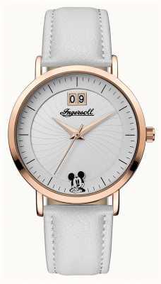 Disney By Ingersoll Женское соединение: белый серебристый циферблат ID00502