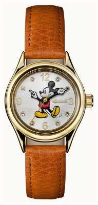 Disney By Ingersoll Женские союзы браслет серебристый кожаный кожаный ID00901